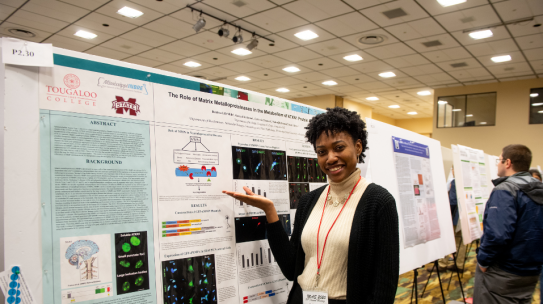 Mississippi INBRE Academic-Year Scholar Wins First Place at the University of Minnesota BGREAT Diversity Conference!